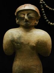 Ancien couvent des Jacobins -  Statuette de la culture Chorrera (1800 - JC / 300 + JC).  Musée d'Auch.