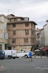 Maison du 15e siècle -  Office du tourisme d'Auch / Gers /  France