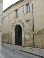 Ancien évêché, actuellement sous-préfecture, tribunal et musée de l'Armagnac - English: Armagnac Museum, Condom, Gers France