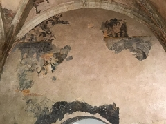 Eglise Saint-Gervais - English: Remaining fresco in the Lectoure cathedral