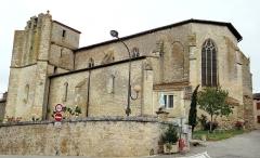 Eglise - Français:   Miradoux - Église Saint-Orens-et-Saint-Louis - Façade sud