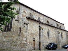 Eglise - Français:   Miradoux - Église Saint-Orens-et-Saint-Louis - Façade nord