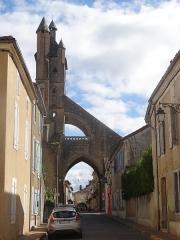 Eglise Notre-Dame - Avant-porche de l'église Sainte-Marie de Mirande.