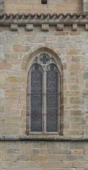Eglise Saint-Sauveur - English: Window of the Saint Saviour church of Figeac, Lot, France