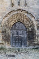 Eglise Saint-Sauveur - English: Northern portal of the Saint Saviour church of Figeac, Lot, France