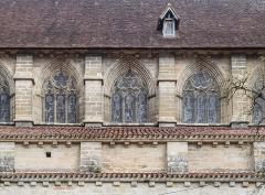 Eglise Saint-Sauveur - English: Windows of the Saint Saviour church of Figeac, Lot, France