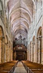 Eglise Saint-Sauveur - English: Interior of the Saint Saviour church of Figeac, Lot, France