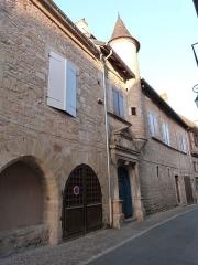 Maison Arcambal - Français:   Façade avec tourelle de la Maison Arcambal