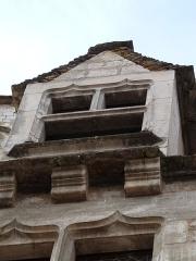 Immeuble dit Maison Mazot - Français:   L\'une des lucarnes de la maison Mazot (Rocamadour, Lot)