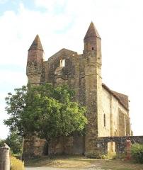 Eglise de Mazères - Français:   Église Saint-Jean-Baptiste de Mazères (Hautes-Pyrénées)