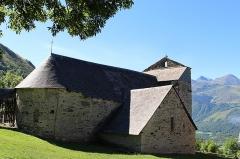 Eglise Saint-Calixte - Français:   Église Saint-Calixte à Cazaux-Fréchet-Anéran-Camors (Hautes-Pyrénées)