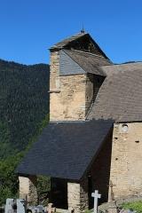 Eglise Saint-Calixte - Français:   Église Saint-Calixte de Cazaux-Fréchet-Anéran-Camors (Hautes-Pyrénées)