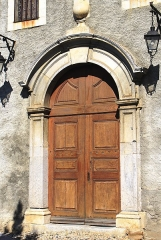 Eglise Saint-Saturnin - Français:   Église Saint-Saturnin de Loubajac (Hautes-Pyrénées)