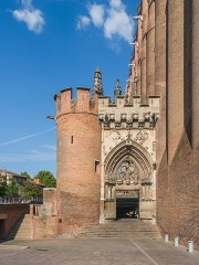 Cathédrale Sainte-Cécile - English: Porch of the Saint Cecilia Cathedral of Albi, Tarn, France        This place is a UNESCO World Heritage Site, listed as Cité épiscopale d'Albi.  العربية | asturianu | беларуская | беларуская (тарашкевіца)‎ | বাংলা | català | čeština | dansk | Deutsch | English | español | euskara | فارسی | français | עברית | hrvatski | magyar | italiano | 日本語 | 한국어 | latviešu | македонски | മലയാളം | مازِرونی | Nederlands | polski | português | português do Brasil | română | русский | sicilianu | slovenčina | slovenščina | Türkçe | українська | Tiếng Việt | 中文 | 中文(中国大陆)‎ | 中文(简体)‎ | 中文(繁體)‎ | 中文(台灣)‎ | +/−