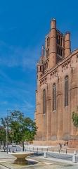 Cathédrale Sainte-Cécile - English: Bell tower of the Saint Cecilia Cathedral of Albi, Tarn, France       This place is a UNESCO World Heritage Site, listed as Cité épiscopale d'Albi.  العربية| asturianu| беларуская| беларуская (тарашкевіца)| বাংলা| català| čeština| dansk| Deutsch| English| español| euskara| فارسی| français| עברית| hrvatski| magyar| italiano| 日本語| 한국어| latviešu| македонски| മലയാളം| مازِرونی| Nederlands| polski| português| português do Brasil| română| русский| sicilianu| slovenčina| slovenščina| Türkçe| українська| Tiếng Việt| 中文| 中文(中国大陆)| 中文(简体)| 中文(繁體)| 中文(台灣)| +/−