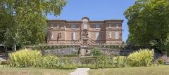 Château d'Hutaud - English:   Hutaud castle or Foucaud castle at Gaillac - West facade - Today Museum of Fine Arts.