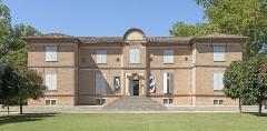 Château d'Hutaud - English:   Hutaud castle or Foucaud castle at Gaillac - East facade - Today Museum of Fine Arts.