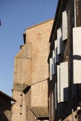 Eglise Saint-Pierre - English:   Église Saint-Pierre. Gaillac. Occitanie, Tarn. France. Church (Église Saint-Pierre). Exterior. Ref: PM_117776_F_Gaillac. Photo: Paul M.R. Maeyaert. pmrmaeyaert@gmail.com. www.polmayer.com. © Paul M.R. Maeyaert; pmrmaeyaert@gmail.com