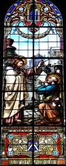 Eglise Saint-Pierre - Français:   Gaillac - Église Saint-Pierre - Vitrail Quo Vadis, signé Henri Fauré, Gaillac 1899