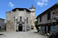 Eglise Sainte-Catherine - Français:   Église et beffroi de Penne