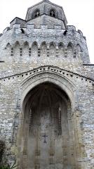 Ancienne église Saint-Martin - Français:   Sorèze - Église Saint-Martin - Le clocher au-dessus de l\'abside. Les créneaux ont été ajoutés en 1937-1939