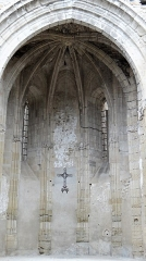 Ancienne église Saint-Martin - Français:   Sorèze - Église Saint-Martin - L\'abside