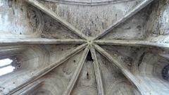 Ancienne église Saint-Martin - Français:   Sorèze - Église Saint-Martin - Voûte de l\'abside