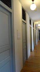 Ancienne église Saint-Martin - Français:   Abbaye-école de Sorèze - Le couloir des chambres du pensionnat