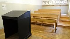 Ancienne église Saint-Martin - Français:   Abbaye-école de Sorèze - Reconstitution d\'une classe