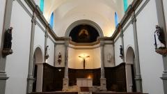 Ancienne église Saint-Martin - Français:   Abbaye-école de Sorèze - Chapelle de l\'école de Sorèze - Nef