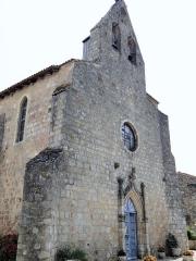 Eglise Saint-Saturnin - Français:   Mansonville - Église Saint-Saturnin - Façade et clocher