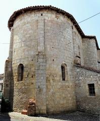 Eglise Saint-Saturnin - Français:   Mansonville - Église Saint-Saturnin - Chevet