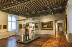 Ancien palais épiscopal, ancien Hôtel de ville, actuellement musée Ingres - English:  Musée Ingres, Montauban, Tarn et Garonne, France. Cambon room