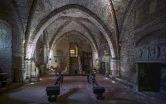 Ancien palais épiscopal, ancien Hôtel de ville, actuellement musée Ingres - English:  Musée Ingres, Montauban, Tarn et Garonne, France. Second basement - Black Prince room