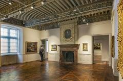 Ancien palais épiscopal, ancien Hôtel de ville, actuellement musée Ingres - English:  Musée Ingres, Montauban, Tarn et Garonne, France. Room of Ingres' Students