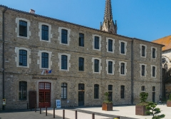 Ancien hôtel de ville - English: Town hall of Saint-Antonin-Noble-Val, Tarn-et-Garonne, France