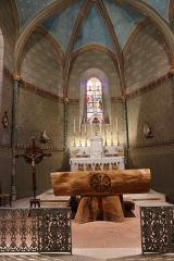 Eglise -  Intérieur de l'église Saint-Vincent de Saint-Vincent-Lespinasse