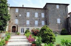 Château - Français:   Château de Marsac (Tarn-et-Garonne) - Façade côté village
