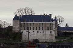 Château - This building is indexed in the base Mérimée, a database of architectural heritage maintained by the French Ministry of Culture,under the reference PA00096768 .