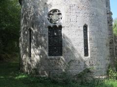 Prieuré de Grandmont - Deutsch:   Church of the Grandmontine Priory Châteauneuf, comm. Corquoy, near Châteauneuf-sur-Cher, Département Cher, France, Choir
