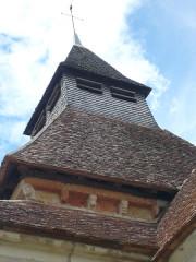 Eglise Saint-Julien - Français:   Clocher-eglise-osmery