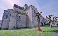 Abbaye Saint-Martin de Plaimpied - Français:   Eglise