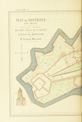 Ancienne forteresse de Montrond - View this map on the BL Georeferencer service.  Image taken from:  Title: \