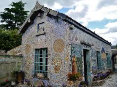 Maison Picassiette, actuellement musée Picassiette - Deutsch: Picassiette-Haus, Chartres, Département Eure-et-Loire, Region Zentrum-Loiretal, Frankreich