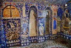 Maison Picassiette, actuellement musée Picassiette - Deutsch: Kapelle des Picassiette-Hauses, Chartres, Département Eure-et-Loire, Region Zentrum-Loiretal, Frankreich