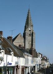 Eglise Saint-Valérien - English:   Bell Tower of Saint Valerian Church