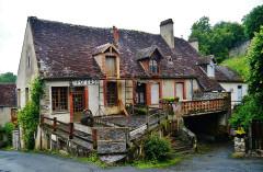 Maison de George Sand - Deutsch: Haus von George Sand, Gargilesse-Dampierre, Département Indre, Region Zentrum-Loiretal, Frankreich