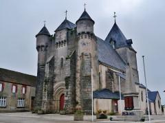 Eglise Saint-Michel - Deutsch: Kirche St. Michael, Lourdoueix-Saint-Michel, Département Indre, Region Zentrum-Loiretal, Frankreich