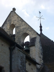 Eglise Saint-Etienne - Basilique Saint-Étienne de Neuvy-Saint-Sépulchre (Indre, France): clocheton