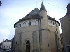 Eglise Saint-Etienne - Basilique Saint-Étienne de Neuvy-Saint-Sépulchre (Indre, France): chevet